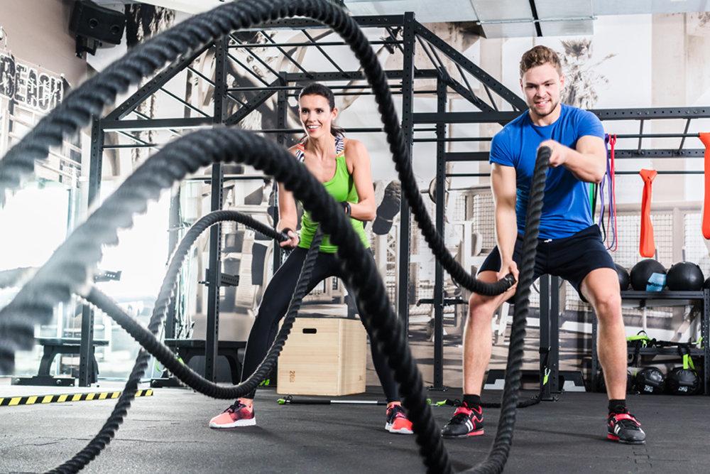 Лучшие 30 упражнений на боевую веревку